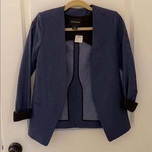 Club Monaco denim blazer